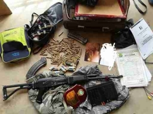"""Benue Police Recover Weapons And Charms From Notorious Criminal, """" Ghana """", Killed One (Photo)"""